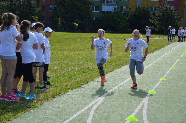 Aj takto sa bojovalo na Detskej športovej olympiáde.