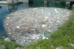 Odpad zachytený nornou stenou