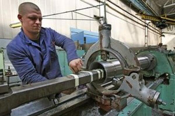 Strojárska výroba.