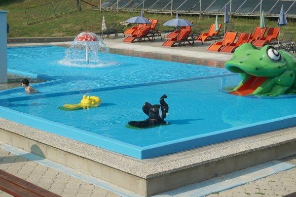 Nový detský bazén.