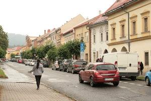 Levoča centrum - malo by byť pešou zónou