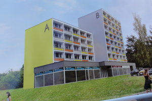 Fasáda sa výrazne architektonicky nezmení. Vizualizácia FRH RKM.