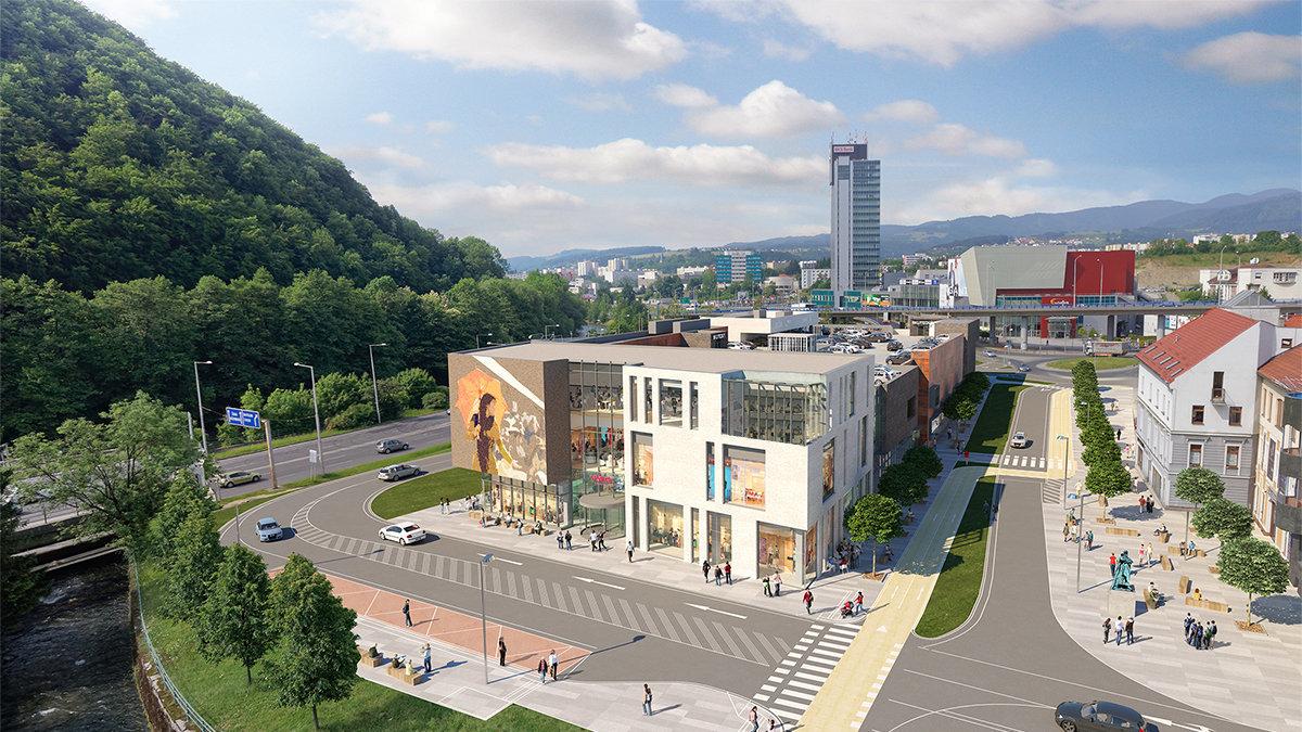 bb4e24785e4eb Nové nákupné centrum Point na Huštáku otvoria v septembri - SME   MY ...