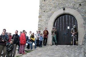 Hrad Strečno otvoria pre verejnosť aj v noci.
