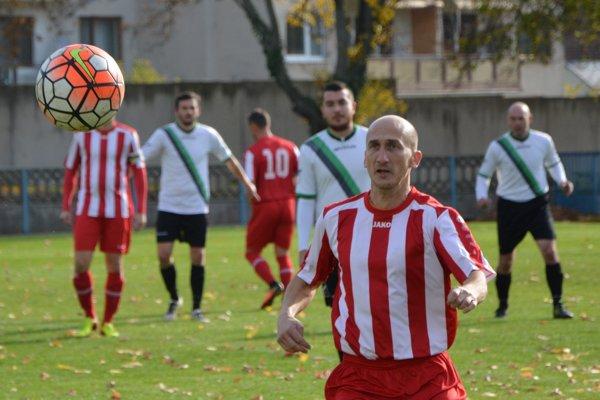 Hrajúci tréner Rastislav Hájovský.