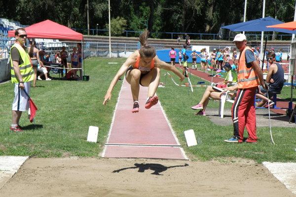 Takto skáče majsterka Slovenska Lea Farkas
