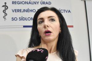 Epidemiologička Regionálneho úradu verejného zdravotníctva Trebišov Lucia Demesová. V okrese zatiaľ osýpky neevidujú, prijali viacero opatrení.