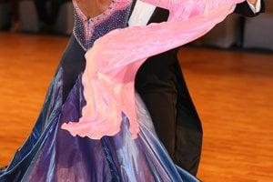 Blažena a Pavol na tanečnom parkete