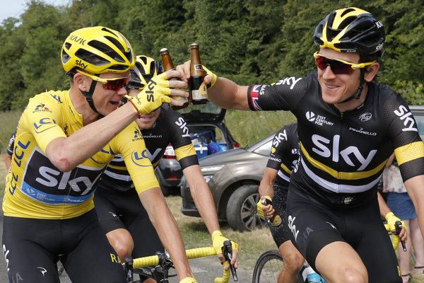Geraint Thomas pomáhal Froomovi k víťazstvu na Tour v troch prípadoch - 2013, 2014 a 2016.