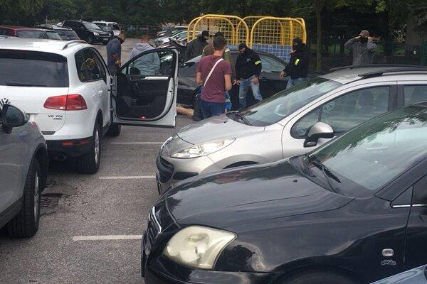 Polícia dnes zasahovala v Nitre.