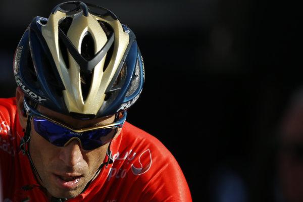 Talian Vincenzo Nibali (Bahrain Merida) počas Tour de France 2018.
