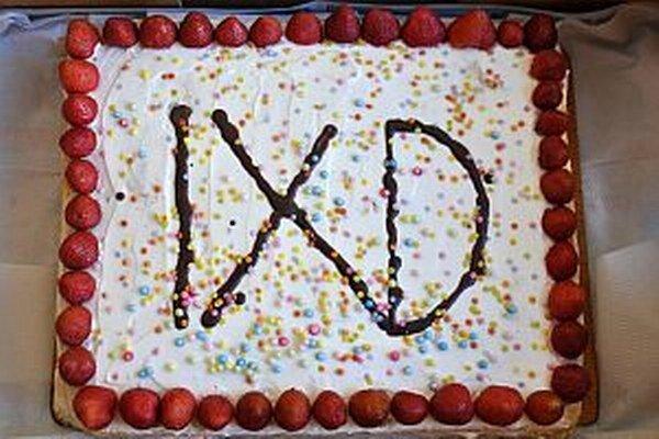 Deviataci z Kukučínky sa so školou lúčili aj takouto tortou.