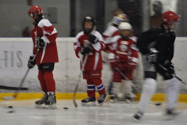 Na Orave trénovali mladí hokejisti z Ameriky päť dní.