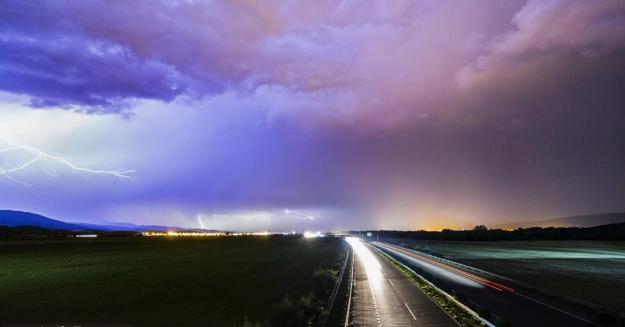 Búrky v Trenčianskom kraji.