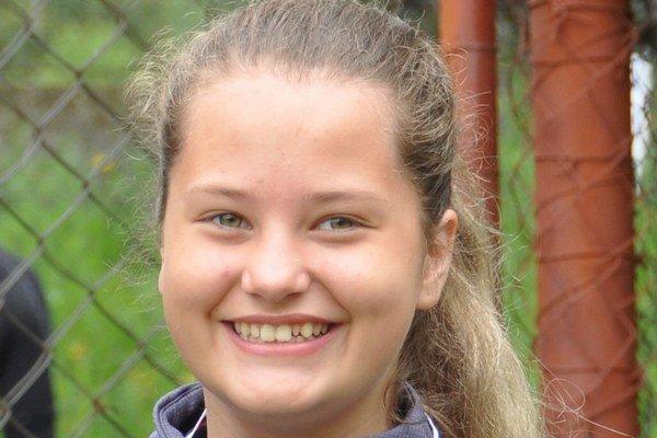 Nikola Ganobčíková mala po majstrovstvách dôvod na úsmev.
