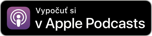 Apple podcasty logo.