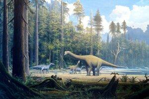 Paleontológovia objavili skameneliny dinosaura na mieste, kde podľa doterajších hypotéz nemal tento druh existovať.