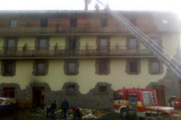 Hotel sa podarilo zachrániť.