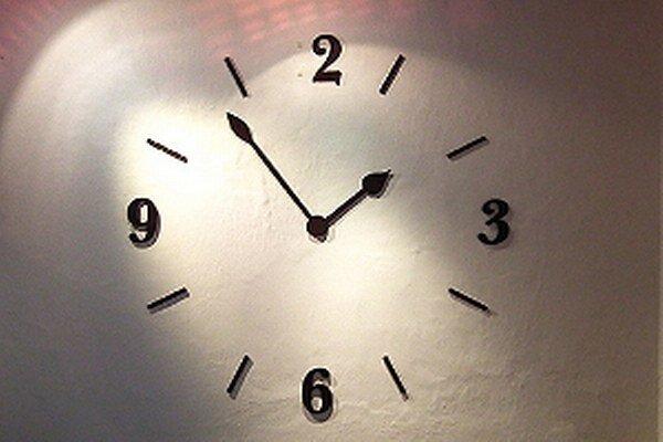 Nové hodiny vo Florinovom dome.