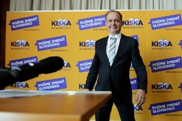 Nový slovenský prezident.