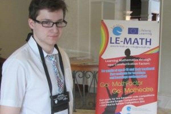 Peter Ľuba svojou prácou zaujal medzinárodných odborníkov.