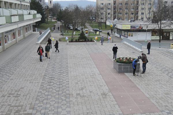 Zrekonštruovaná horná časť Malokarpatského námestia oficiálne sprístupnili 21. decembra 2017