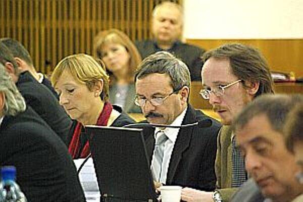 V súvislosti komisiami padali na zasadnutí zastupiteľstva viaceré pozmeňovacie návrhy. Väčšina neprešla