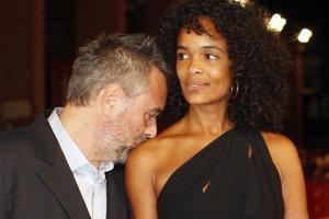 Luc Besson so svojou ženou producentkou Virgienie Silla.