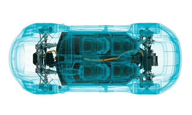 Hnacie ústrojenstvo modelu Porsche Taycan