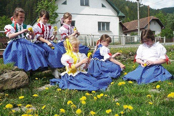 Deti z Oravského Bieleho Potoka