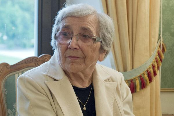 Mária Orgonášová.