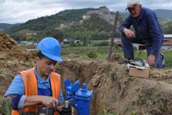 V Oravskom Podzámku pribudne 400 m vodovodu.