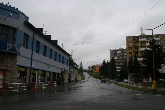 Cesta v smere od Košíc