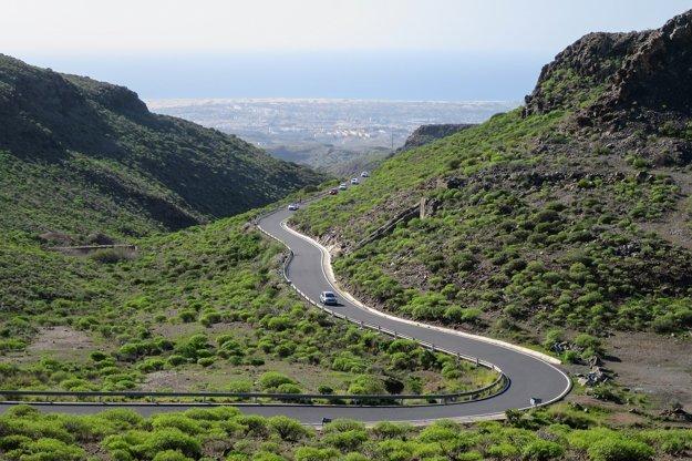 Cesta z Maspalomas