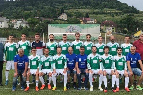 Káder MFK Spartak Hriňová pred sezónou 2018/2019.