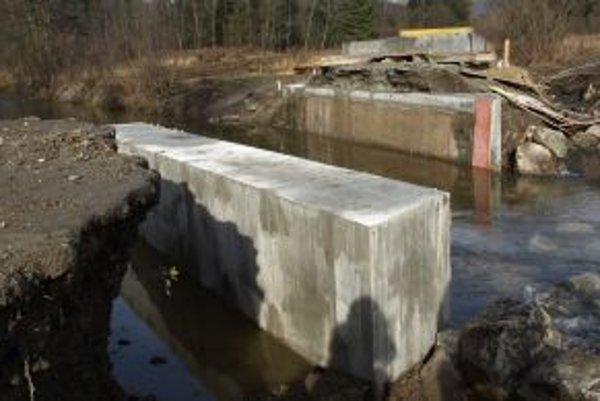 Nový most na Slanej vode je už prejazdný.