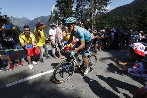 Michael Valgren počas Tour de France 2018.