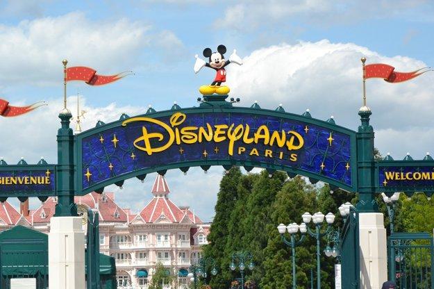 Vstup do parížskeho Disneylandu