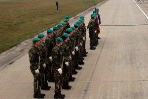 Príslušníci českej armády
