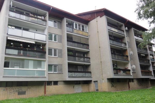 Bytovka na Kimovskej.