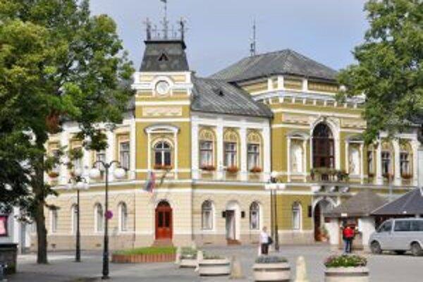 Mestský úrad v Tvrdošíne. Z eurofondov dostane 2,5 milióna eur.