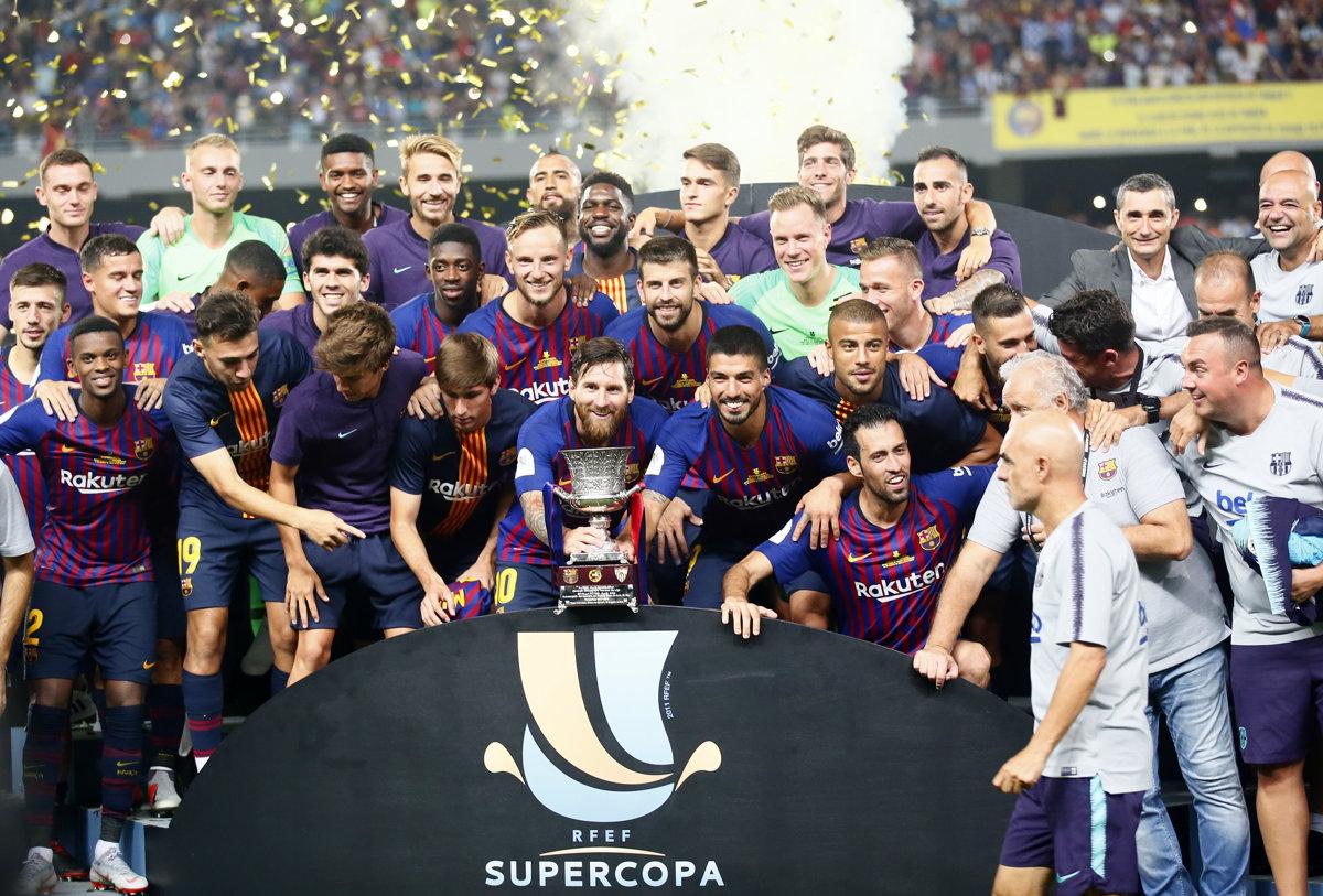f5288642527e3 VIDEO: Barcelona vyhrala španielsky Superpohár 2018 - Šport SME