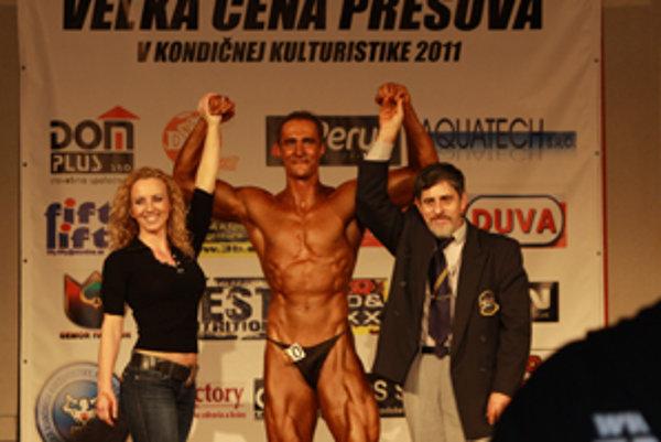 Daniel Skála v Prešove zvíťazil.