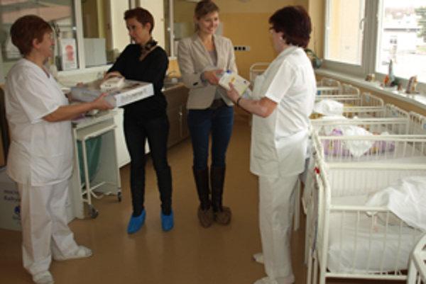 Prístroje prebrali zdravotné sestry.