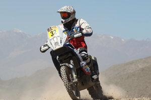 Štefan Svitko na rely Dakar 2012.