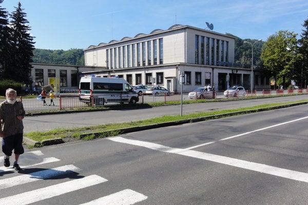 Železničná stanica vo Zvolene.