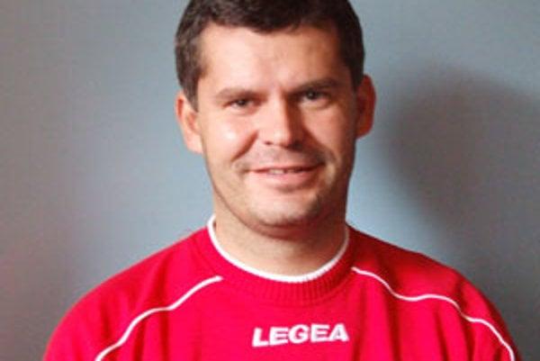 Nový lodivod dolnokubínskych futbalistov Ivan Tittel.