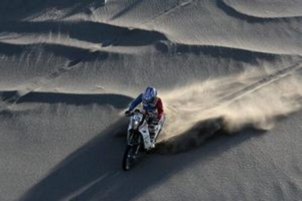 Žaškovčan si s nástrahami púštnej rely poradil dokonale.