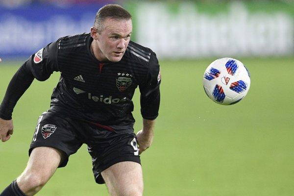 Wayne Rooney v drese D.C. United.