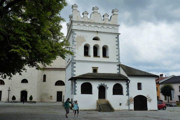 Renesančná zvonica v Podolínci, postavená v roku 1659.